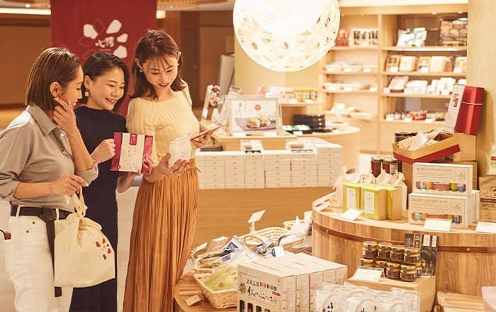 幅広い品揃え 売店「心陽(KOHARU)」